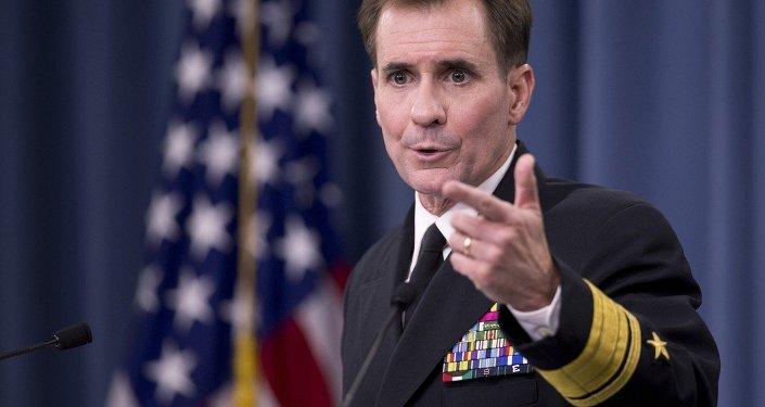Il portavoce del Dipartimento di Stato americano John Kirby.