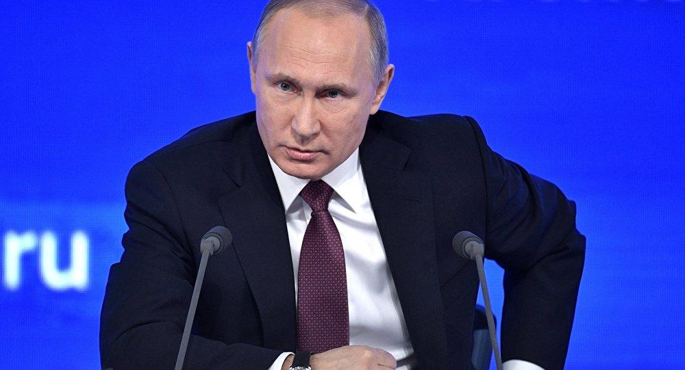 Alla conferenza stampa di Vladimir Putin