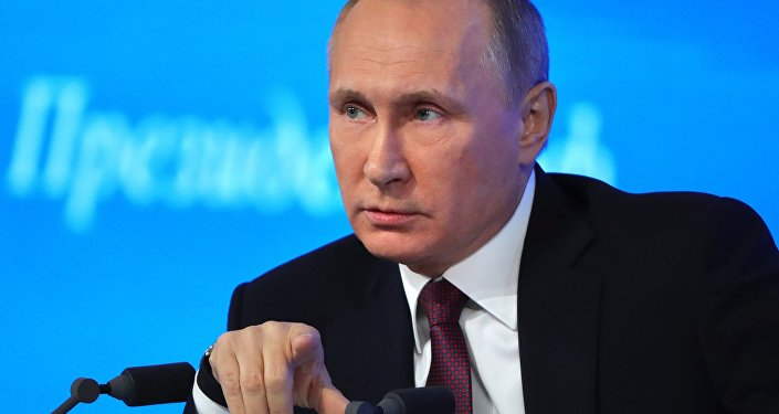 Conferenza stampa di Vladimir Putin