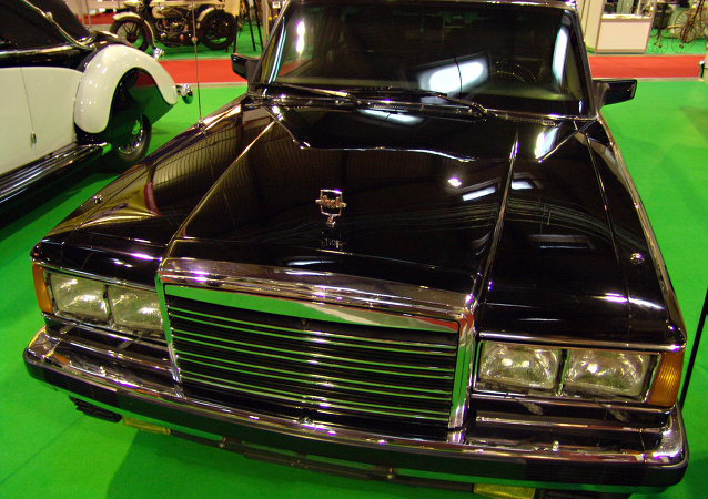 The new Russian presidential limousine is set to be ready for September, 2017. Pictured: The Zil 41047, the last presidential limousine developed for and used by Soviet (and then Russian) leaders before President Boris Yeltsin switched to Mercedes in the mid-1990s