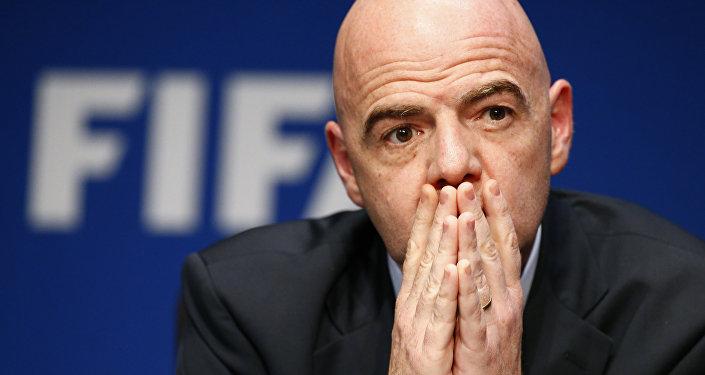 Presidente della FIFA Gianni Infantino