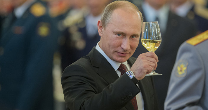 Presidente russo Vladimir Putin (foto d'archivio)
