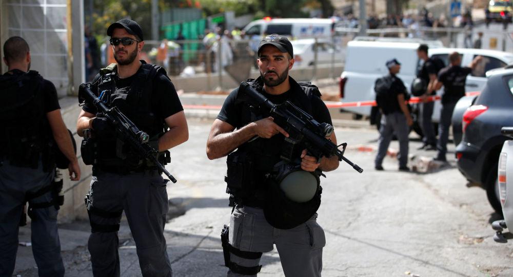 Polizia israeliana a Gerusalemme