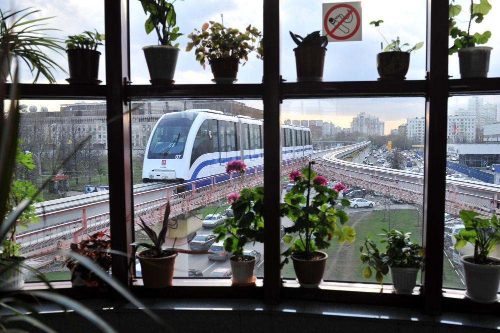 La monorotaia di Mosca.
