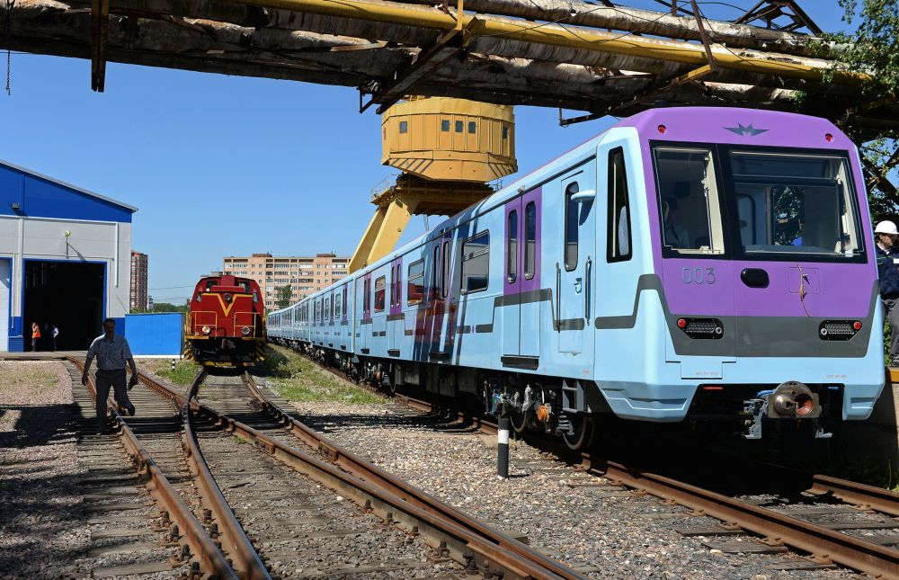 La fabbrica Metrovagonmash.