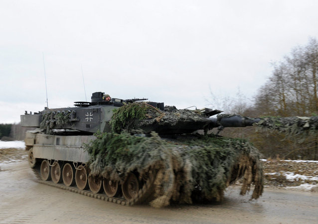 German army Leopard 2