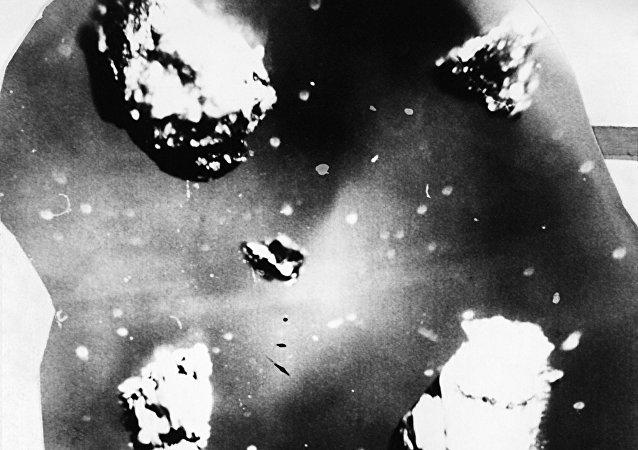 Diamond-graphite growths from the place where the Tunguska meteorite fell on the Podkamennaya Tunguska River near Vanavara, Krasnoyarsk Territory. (File)