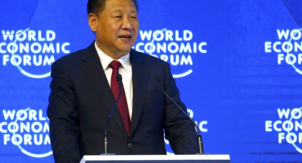 Chinese President Xi Jinping attends the World Economic Forum (WEF) annual meeting in Davos, Switzerland January 17, 2017.