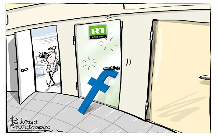 Russia Today bloccata da Facebook
