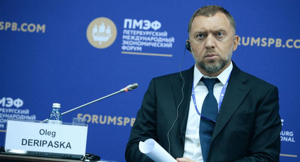 Oleg Deripaska, proprietario della Rusal