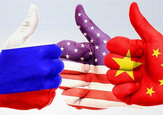 USA-Cina-Russia