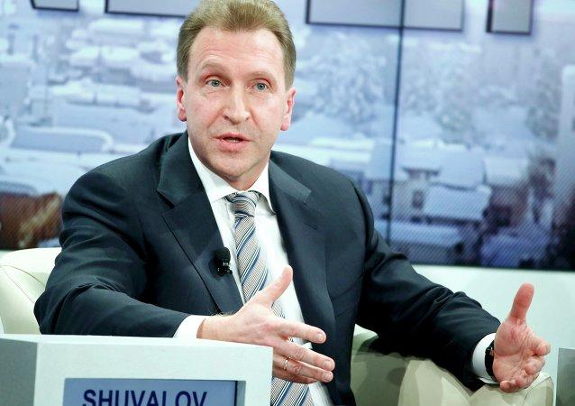 Il vicepremier russo Igor Shuvalov