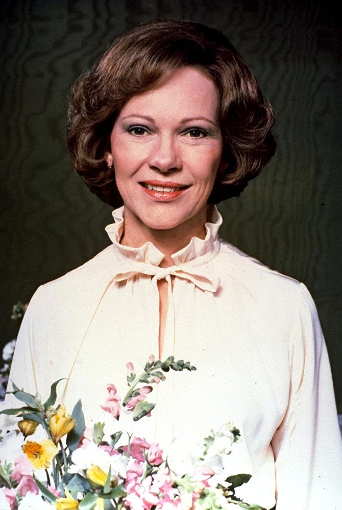 Rosalynn Carter.