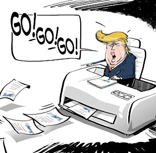 Donald Trump firma decreti