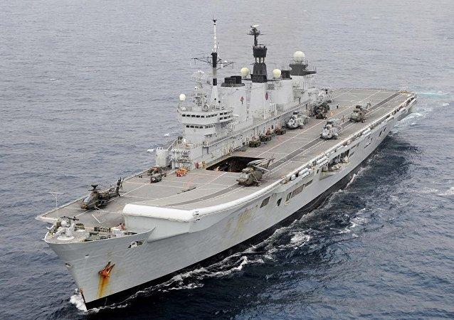 Nave della Marina britannica (foto d'archivio)