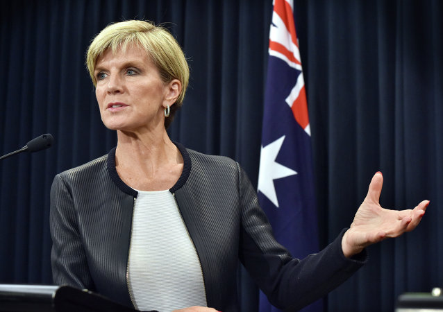 Ministro degli Esteri australiano, Julie Bishop