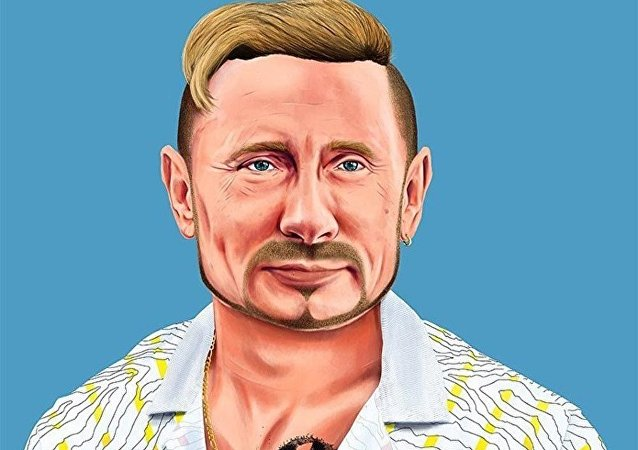 Vladimir Putin in versione hipster