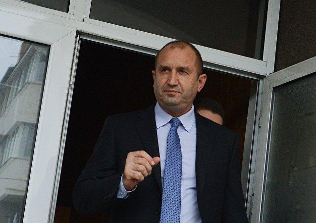 Il Presidente bulgaro Rumen Radev