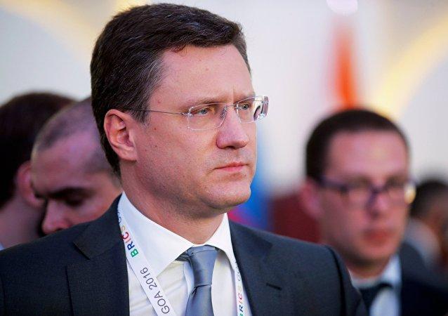Il ministro dell'Energia russo Alexander Novak