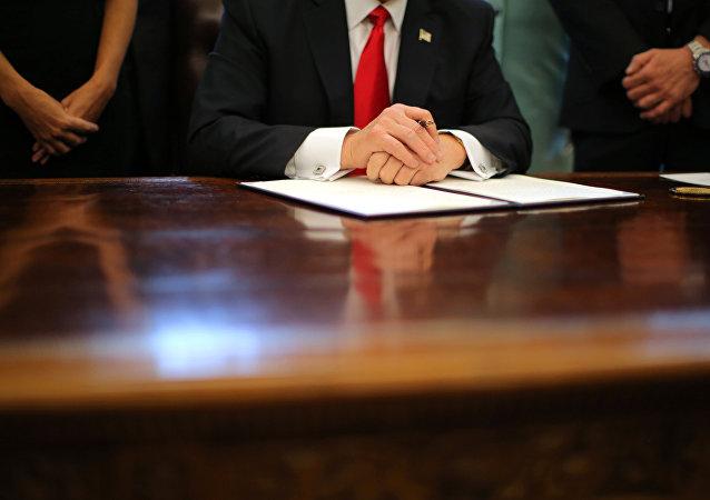 Il Presidente degli USA Donald Trump