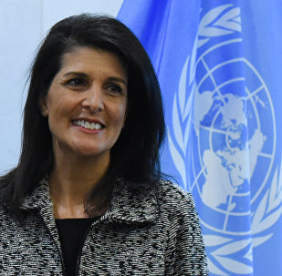 Rappresentante permanente USA all'ONU Nikki Haley