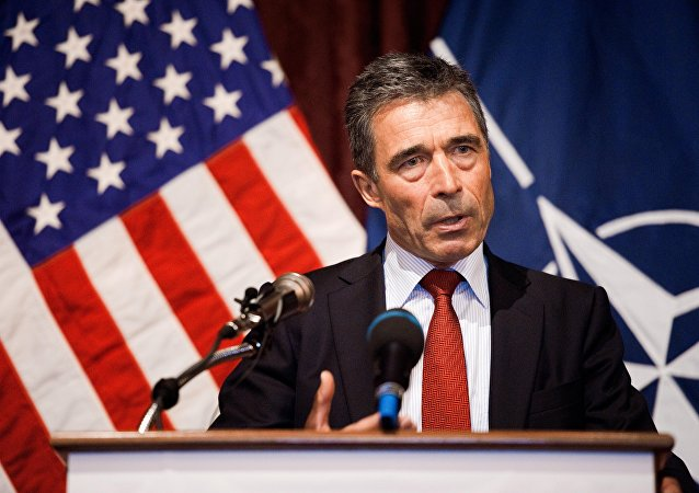 Ex segretario generale della NATO Anders Fogh Rasmussen (foto d'archivio)