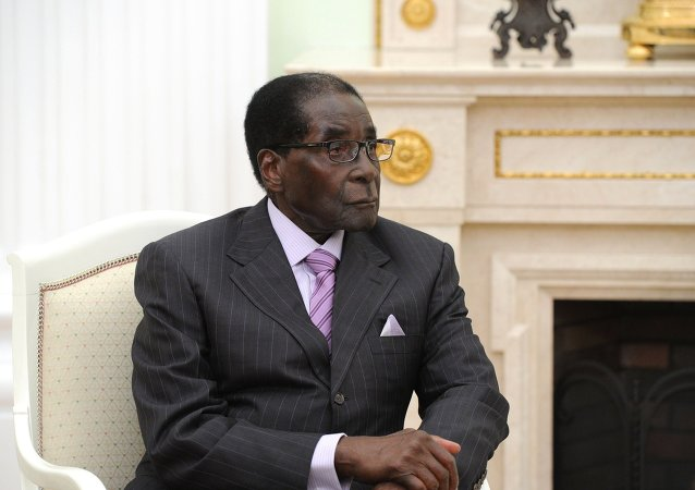 Robert Mugabe, presidente dello Zimbabwe