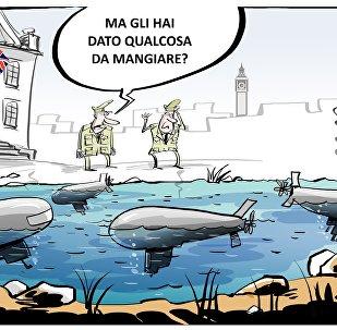 Tutti i sottomarini d'attacco britannici sono fuori uso