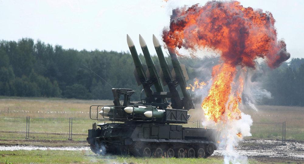 The Buk missile system