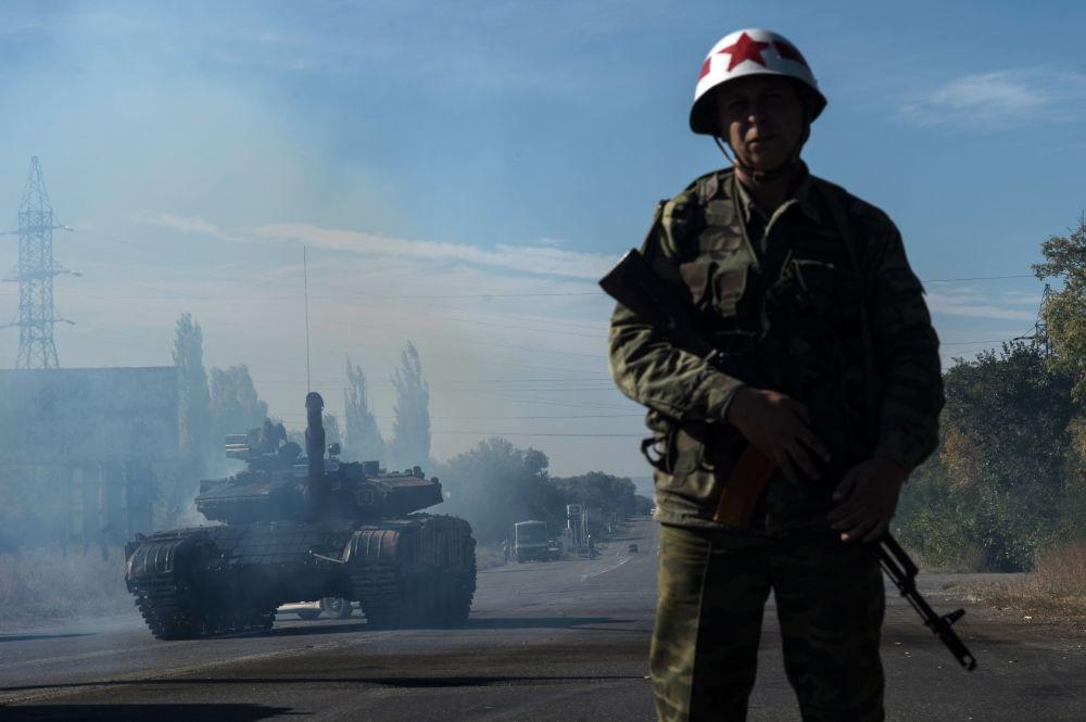 Il ritiro di armamenti nella Repubblica popolare di Lugansk.