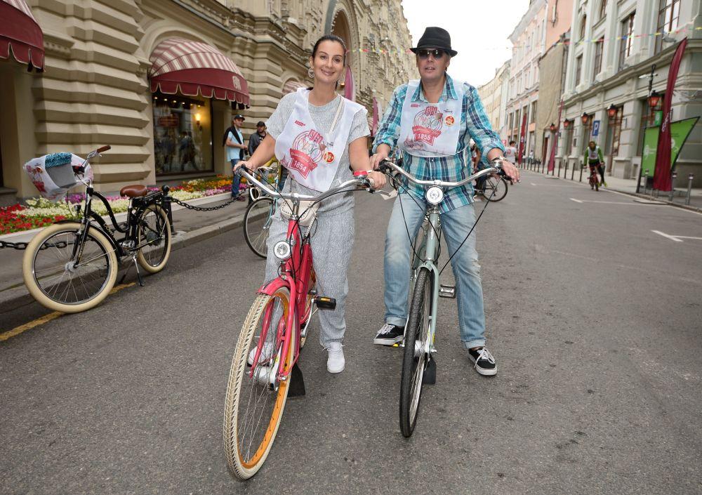 L'attore, produttore e regista Aleksandr Strizhenov e sua moglie Ekaterina Strizhenova.