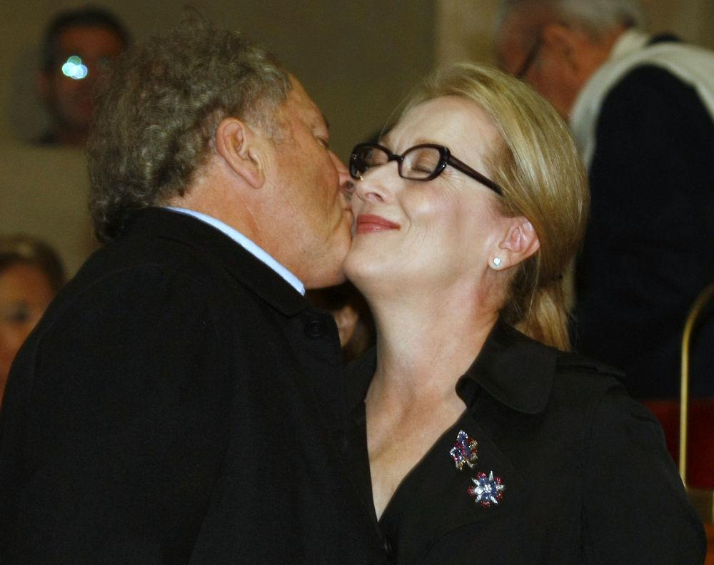 L'attrice americana Meryl Streep e suo marito Don Gummer.