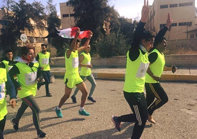 La maratona da Baghdad a Mosul