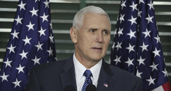 Vicepresidente USA Mike Pence (foto d'archivio)