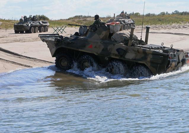 Il BTR-80 russo