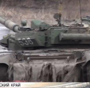 Fangoterapia per i carri armati T-72