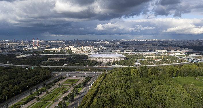 Lo stadio Luzhniki di Mosca, già Lenin, che ospiterà la finalissima dei Mondiali
