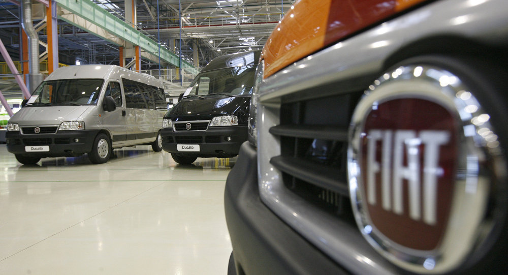 Завод по производству автомобилей Fiat Ducato