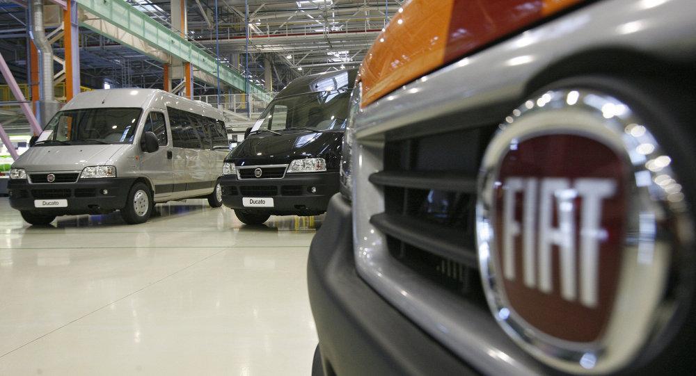 Usine fabriquant des Fiat Ducato