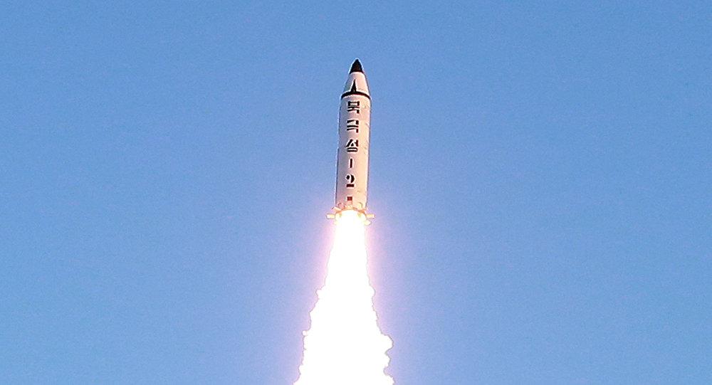 Un missile guidato nord coreano