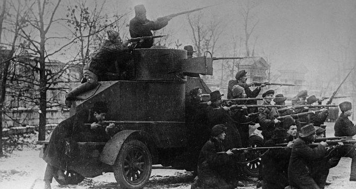 Gli scioperi del 1917 a Pietrogrado
