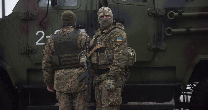 Soldati ucraini ad Avdeevka