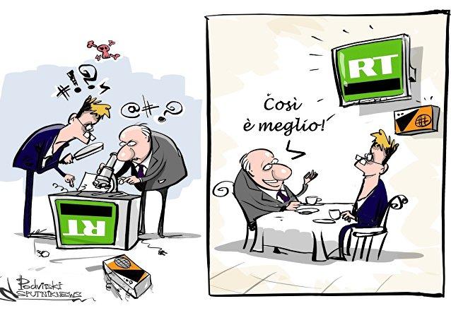 I parlamentari britannici non vogliono privarsi del piacere di guardare RT alla mensa