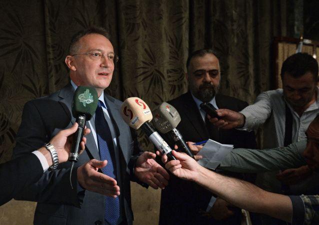 L'ambasciatore russo a Damasco, Alexander Kinshchak