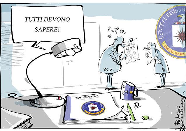 Wikileaks vignetta