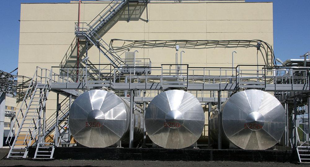 Una centrale per la distruzione di armi chimiche in Siberia