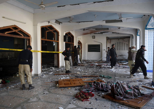 Esplosione a una moschea
