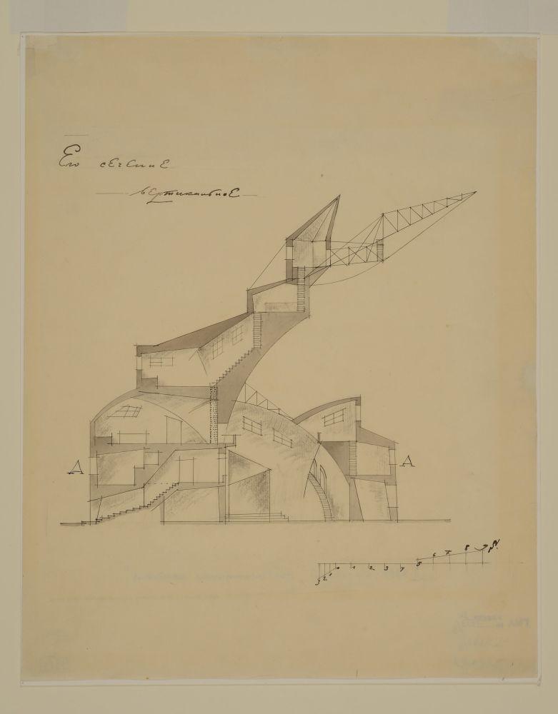 Il disegno di Aleksej Ščusev.