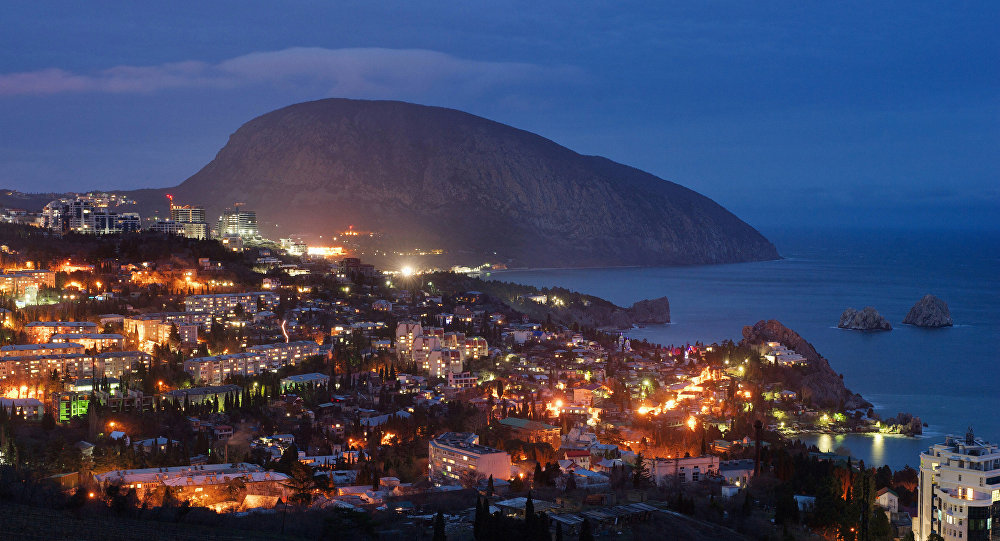La città di Gurzuf, Crimea