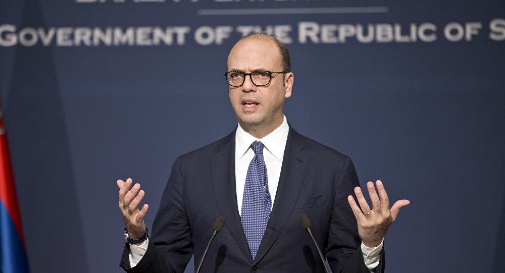 Il ministro Esteri italiano Angelino Alfano